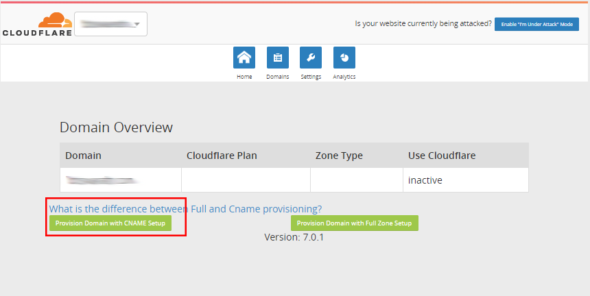 Enable Cloudflare on cPanel | KnowledgeBase